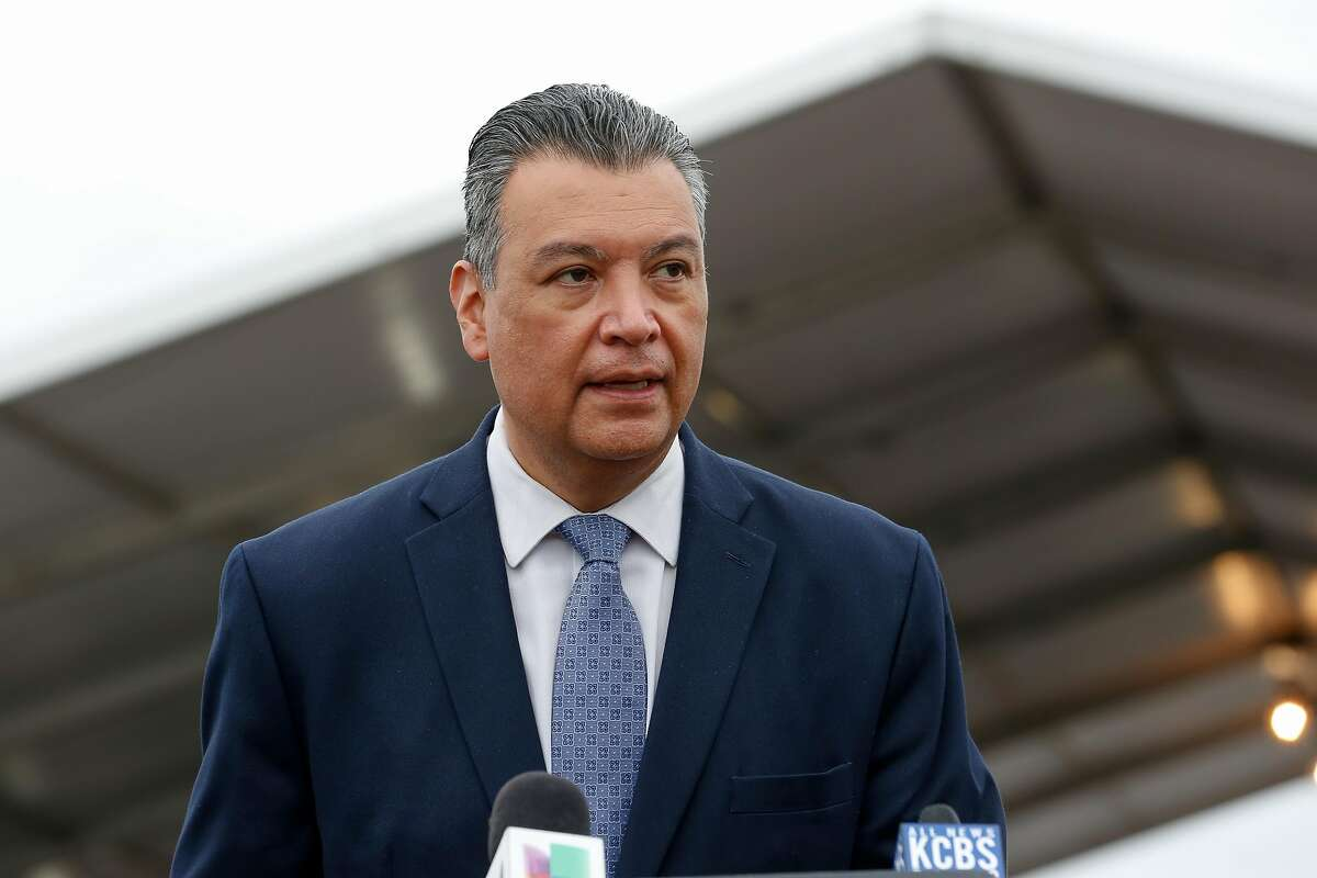 Sen. Alex Padilla, D-Calif., is on a media blitz as he tries to introduce himself to California voters before next year's election