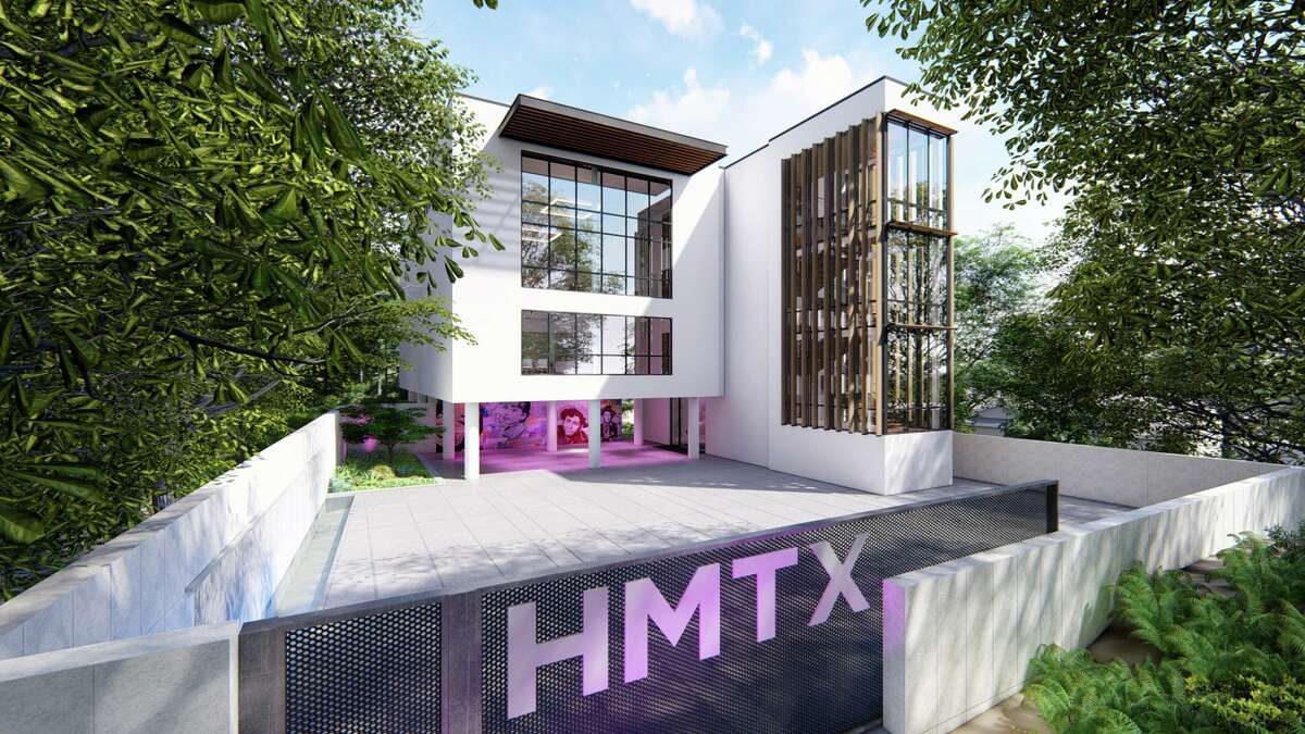 A rendering of a design center being built by HMTX Industries in Norwalk, Conn., which will seek certification under the Living Building Challenge that has among the most exacting