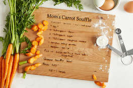 Personalized Family Recipe Board, $100 at Uncommon Goods