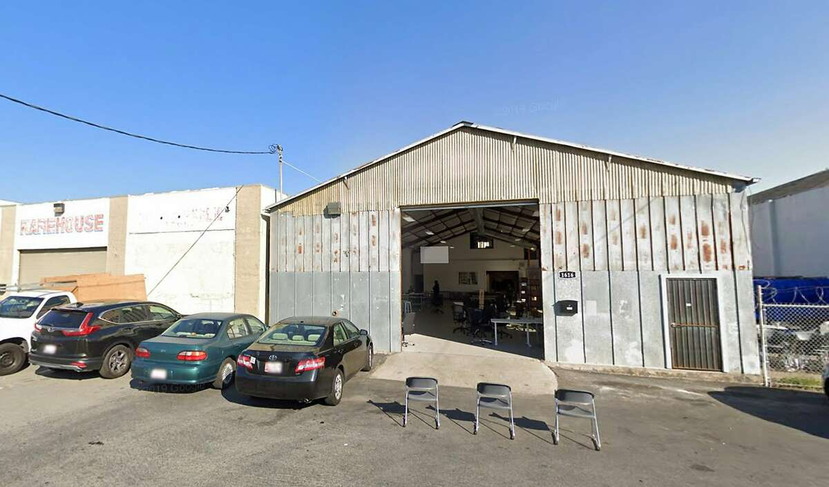 The warehouse of San Francisco grocery delivery company Imperfect Foods is seen here. It plans to contest drivers' vote to unionize.