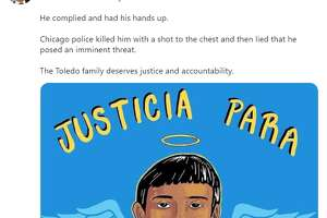 Texas leaders respond to footage showing fatal police shooting of Adam Toledo.