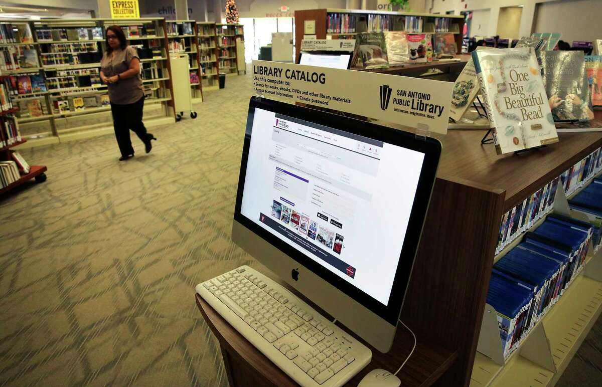 """COVID-19 did not stop libraries, but it did prompt digital innovation. Now many San Antonio Public libraries are back with """"brisk browsing."""""""