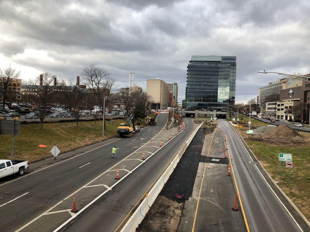 Downtown Crossing project to close stretch of New Haven's South Frontage Road for 5 months
