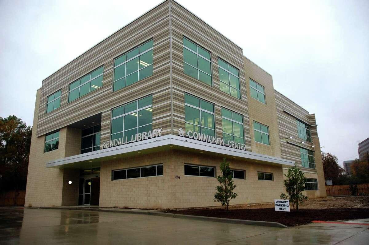 Belle Sherman Kendall Library and Community Center at 609 N. Eldridge.