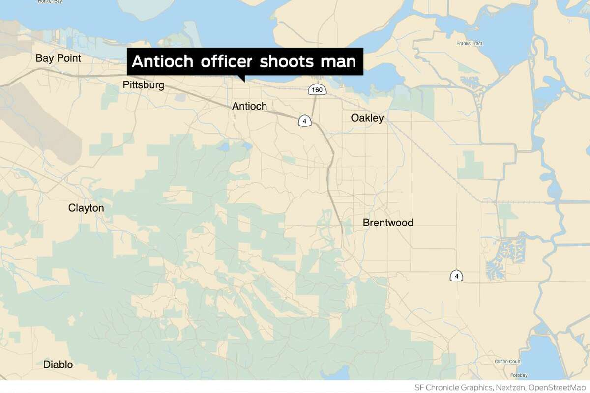 A man was hospitalized and reportedly in stable condition after being shot by an Antioch police responding to a mental health call early Friday morning, authorities said.