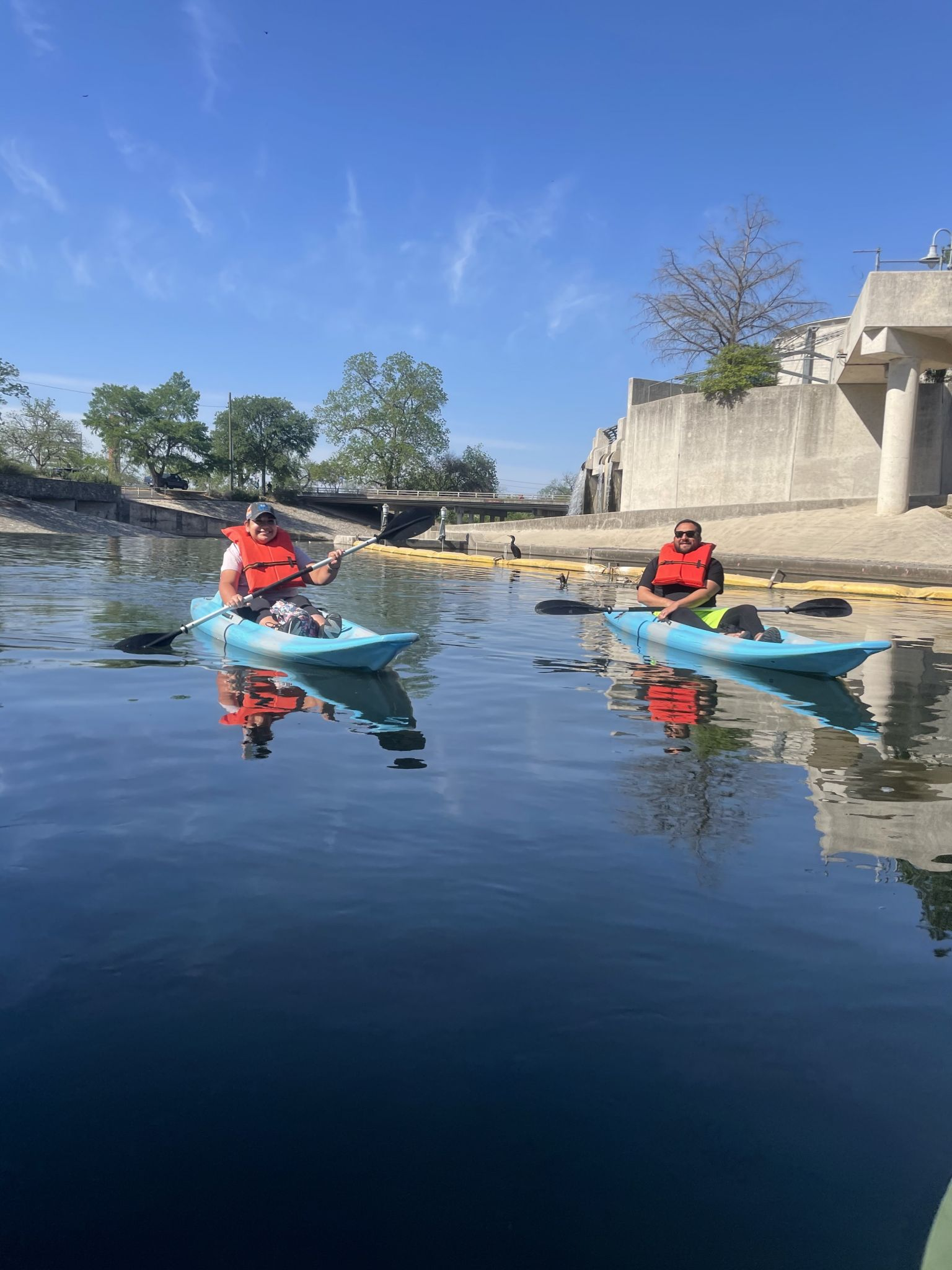 The TX River Company paddles up to Roosevelt Park with kayaking adventures