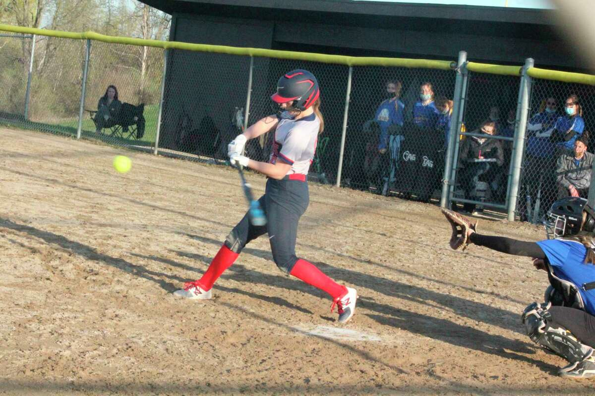 It was a sweet sweep for Big Rapids over Fremont in Friday softball action.