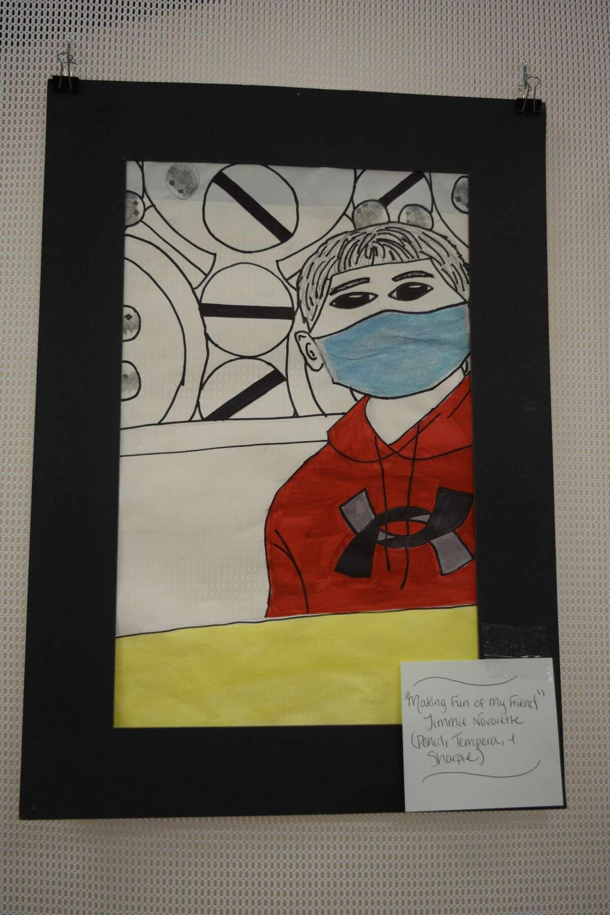 """""""Making Fun Of My Friend"""" Artist: Jimmie Navarette"""