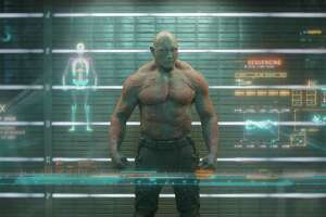 "Drax the Destroyer (Dave Bautista) in ""Guardians of the Galaxy."""