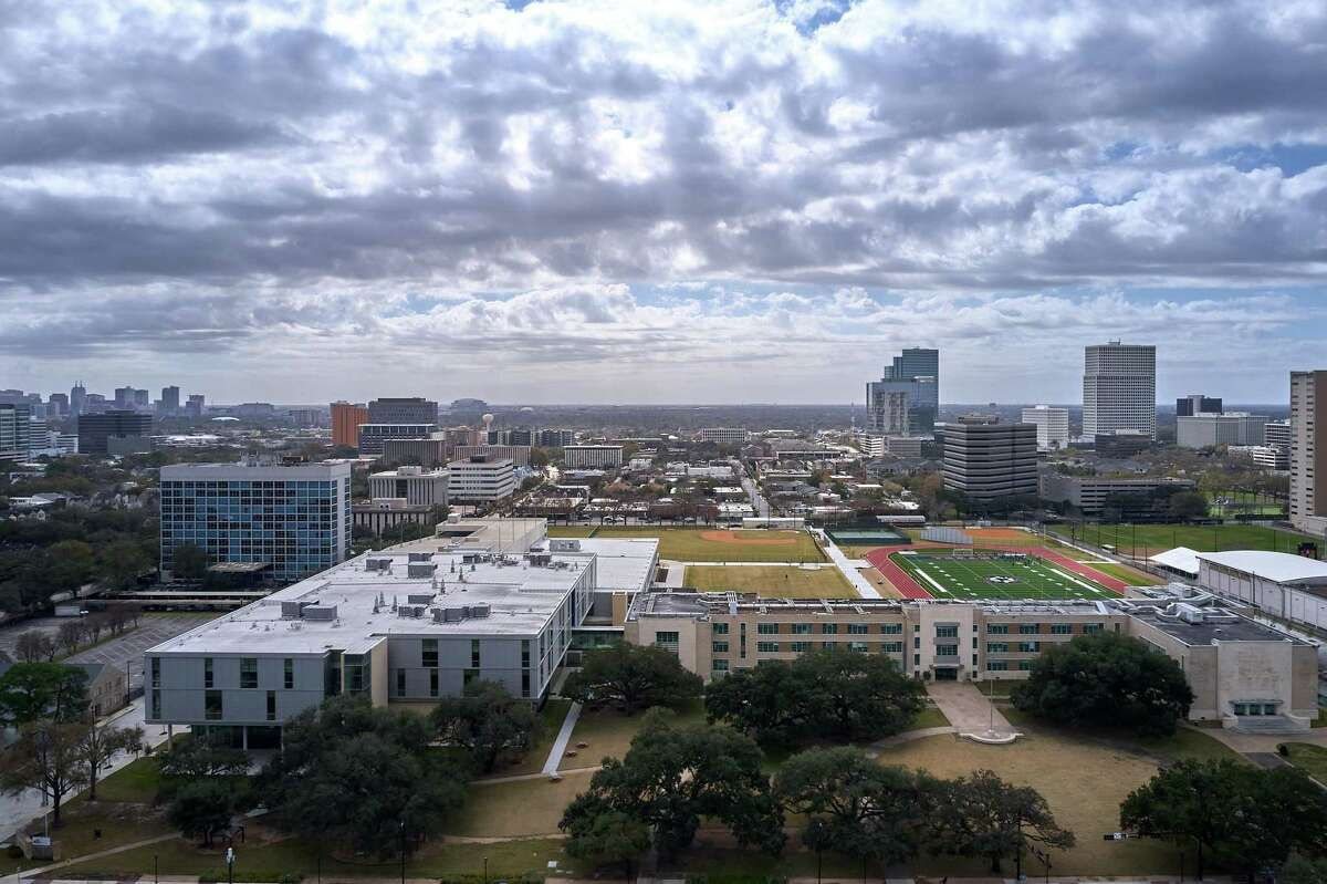 Lamar's $122 million project, part of the 2012 Bond Program, brings several improvements to the campus, including a new, state-of-the-art academic wing, renovations to its historic original building, and enhancements to the athletic fields.