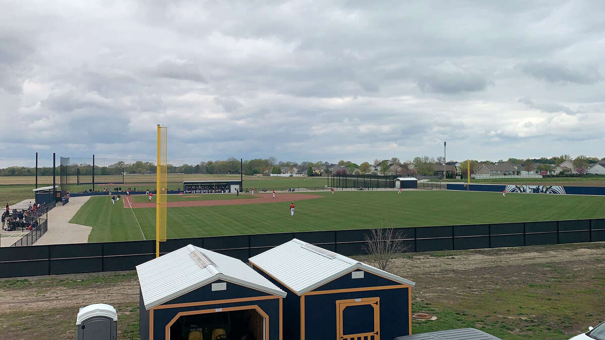 The Father McGivney Griffins take on Wayne City in the first home game on the new field located behind the high school on Saturday in Glen Carbon.