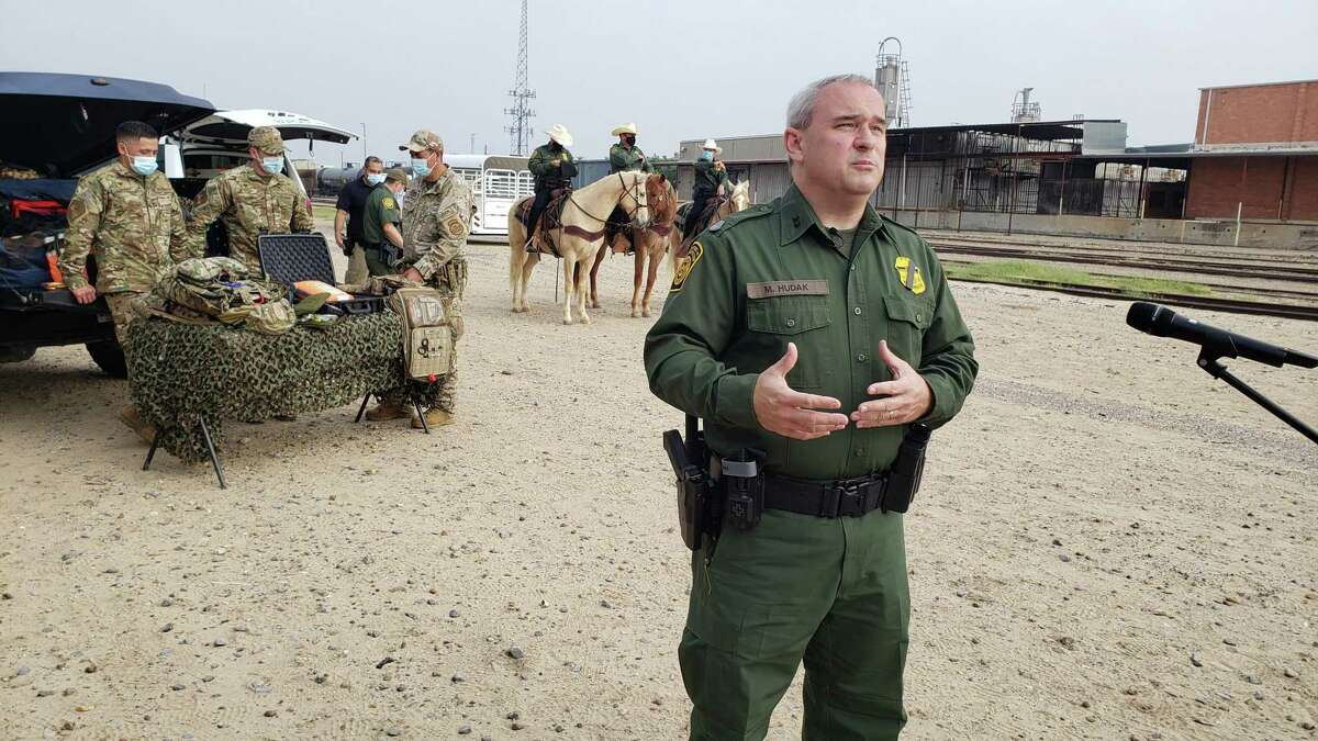 Chief Patrol Agent Matthew J. Hudak talks about the consequences of crossing the border illegally and the rescues done in the Laredo Sector.