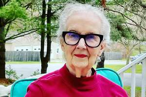 Charlotte O'Donnell, 86, organized a group called EGOS, Encourage Girls Organized Sports, which lobbied for girls' varsity sports in the Guilderland School Distict in the 1970s, when Title IX was in its early years. (Photo by Mary Grondahl)