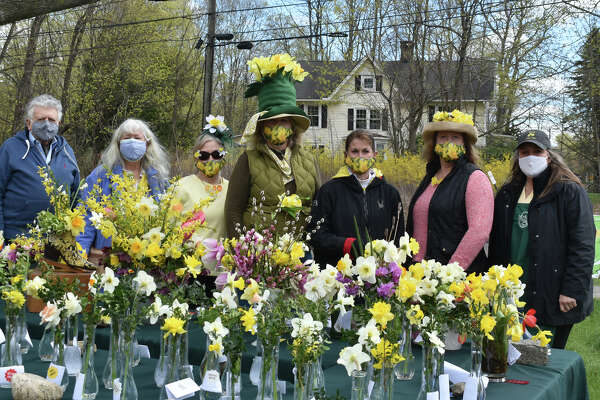 Were you SEEN enjoying the sunshine and pretty daffodils at The Wilton Daffodil Festival held by The Wilton Garden Club on April 17, 2021?