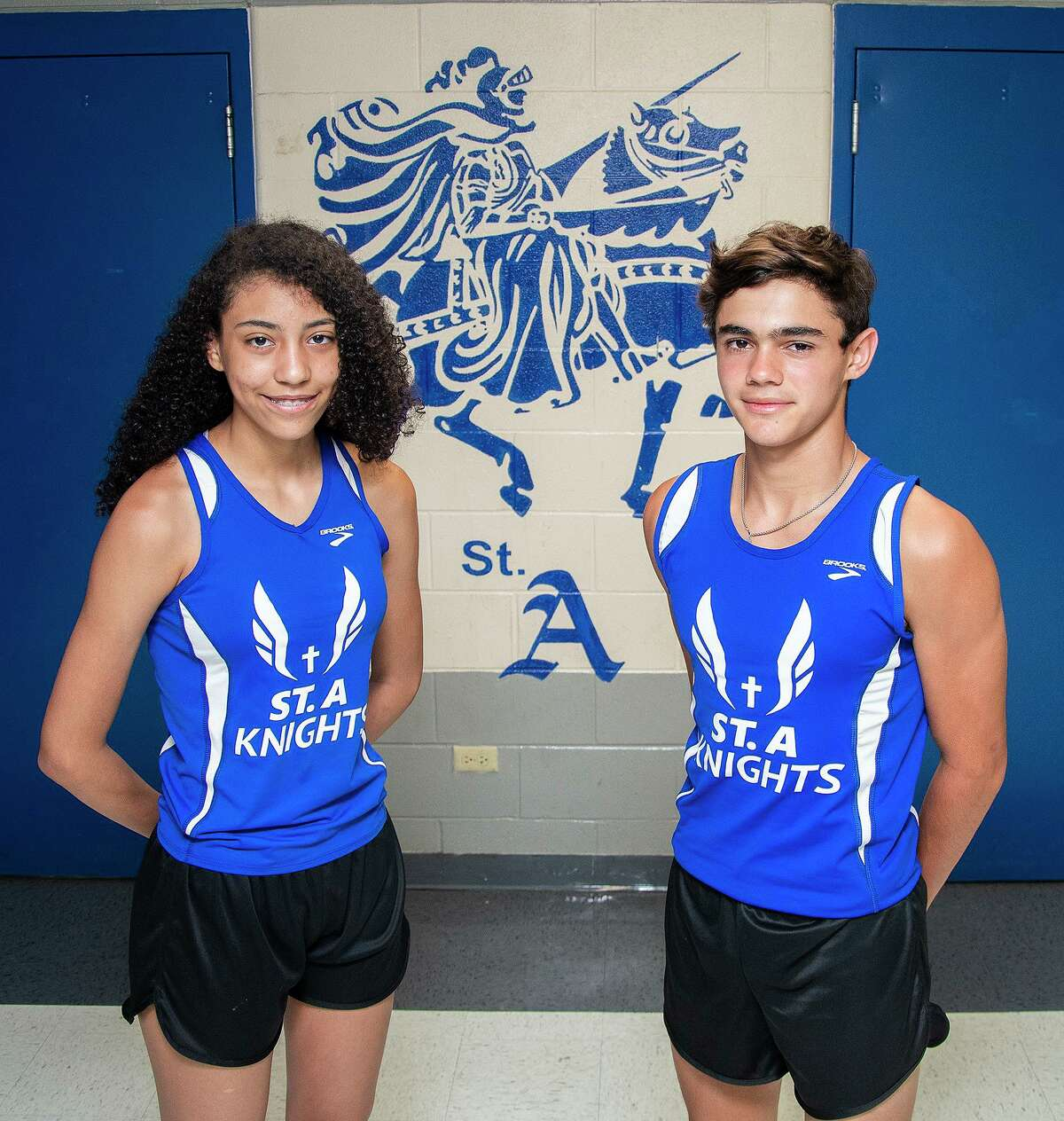 Arianna Ledet and Efran Melendez will represent St. Augustine at the TAPPS Track and Field regional meet on Thursday.