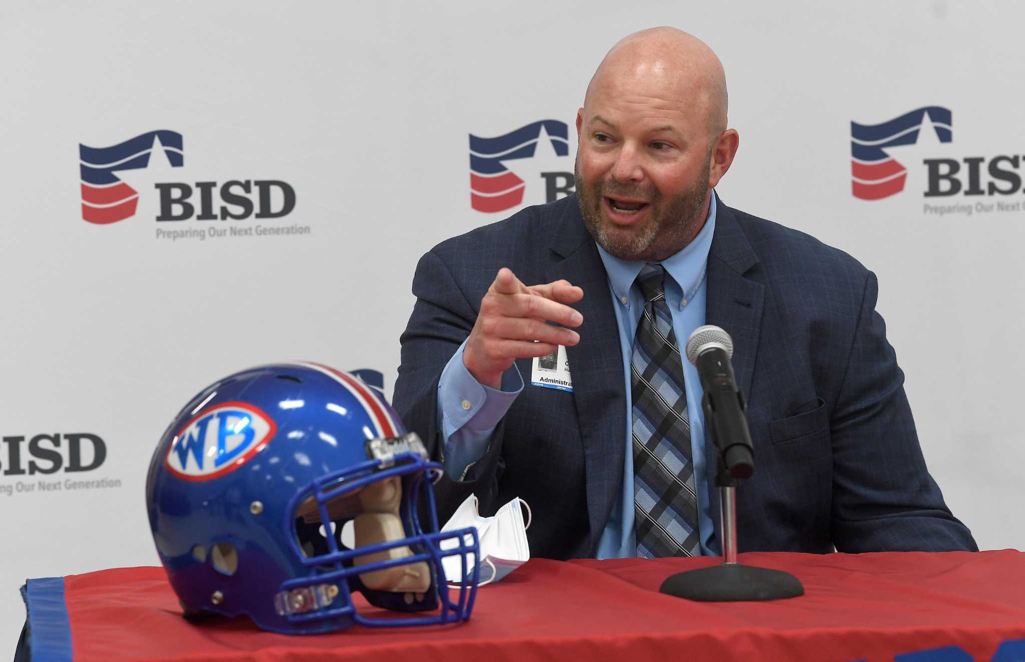 West Brook's Chuck Langston loves Mexican food, shooting 3-pointers and coaching football