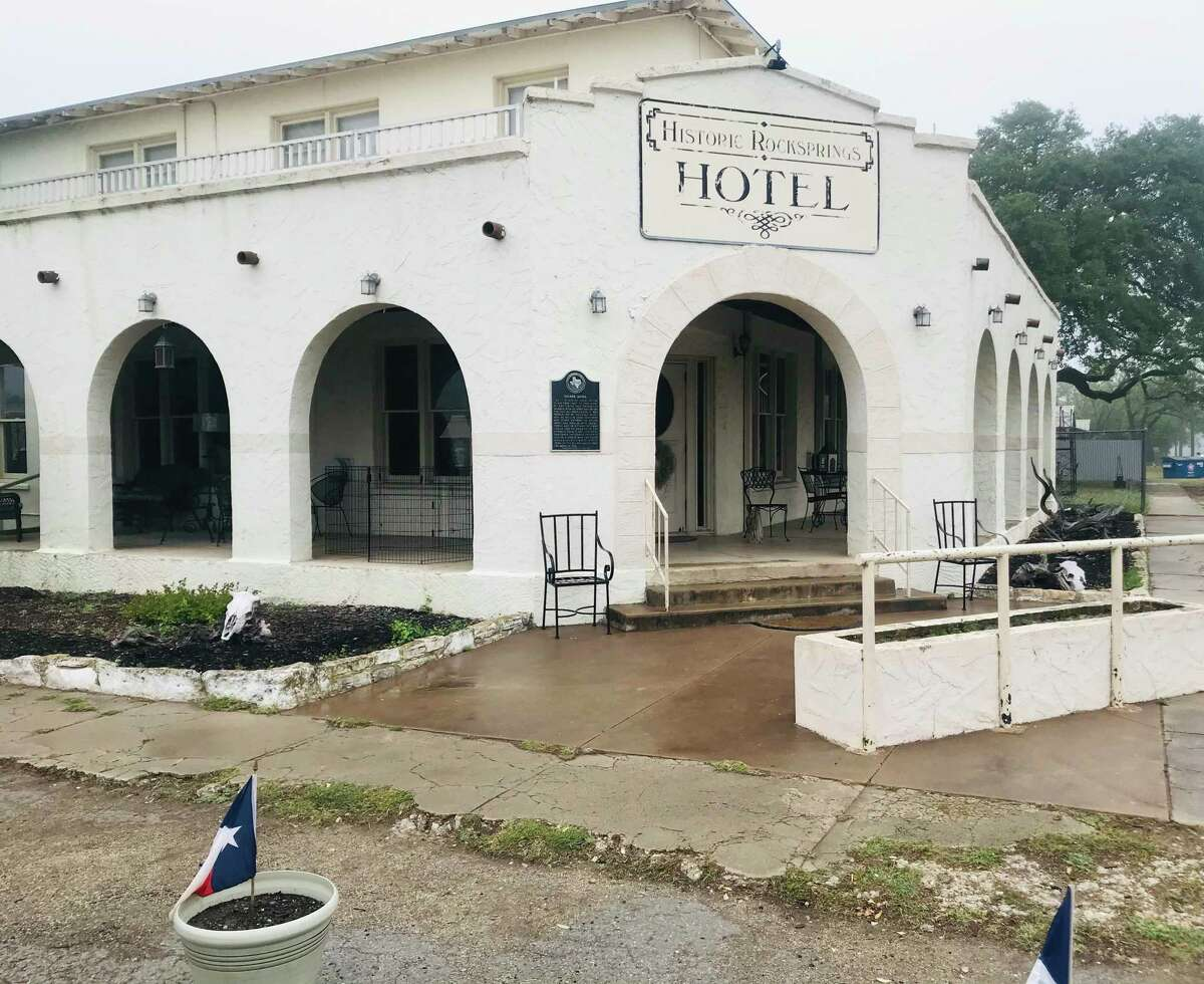 The Historic Rocksprings Hotel opened its doors in 1916. Debra and Craig Wolcott, native Houstonians, acquired it in 2009.