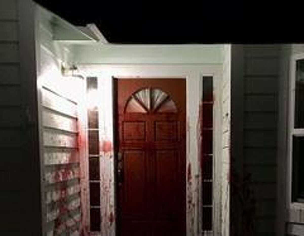 The Santa Rosa home vandalized with pig's blood was once owned by former police officer Barry Brodd, who testified in defense of ex-Minneapolis Police Officer Chauvin in the George Floyd murder trial.