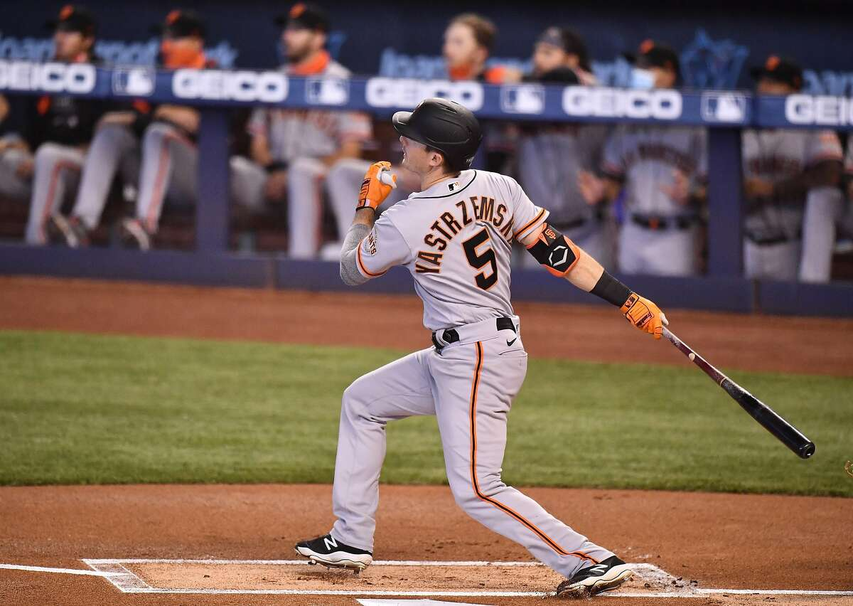 Outfielder Mike Yastrzemski, who has an oblique strain, was activated Friday.