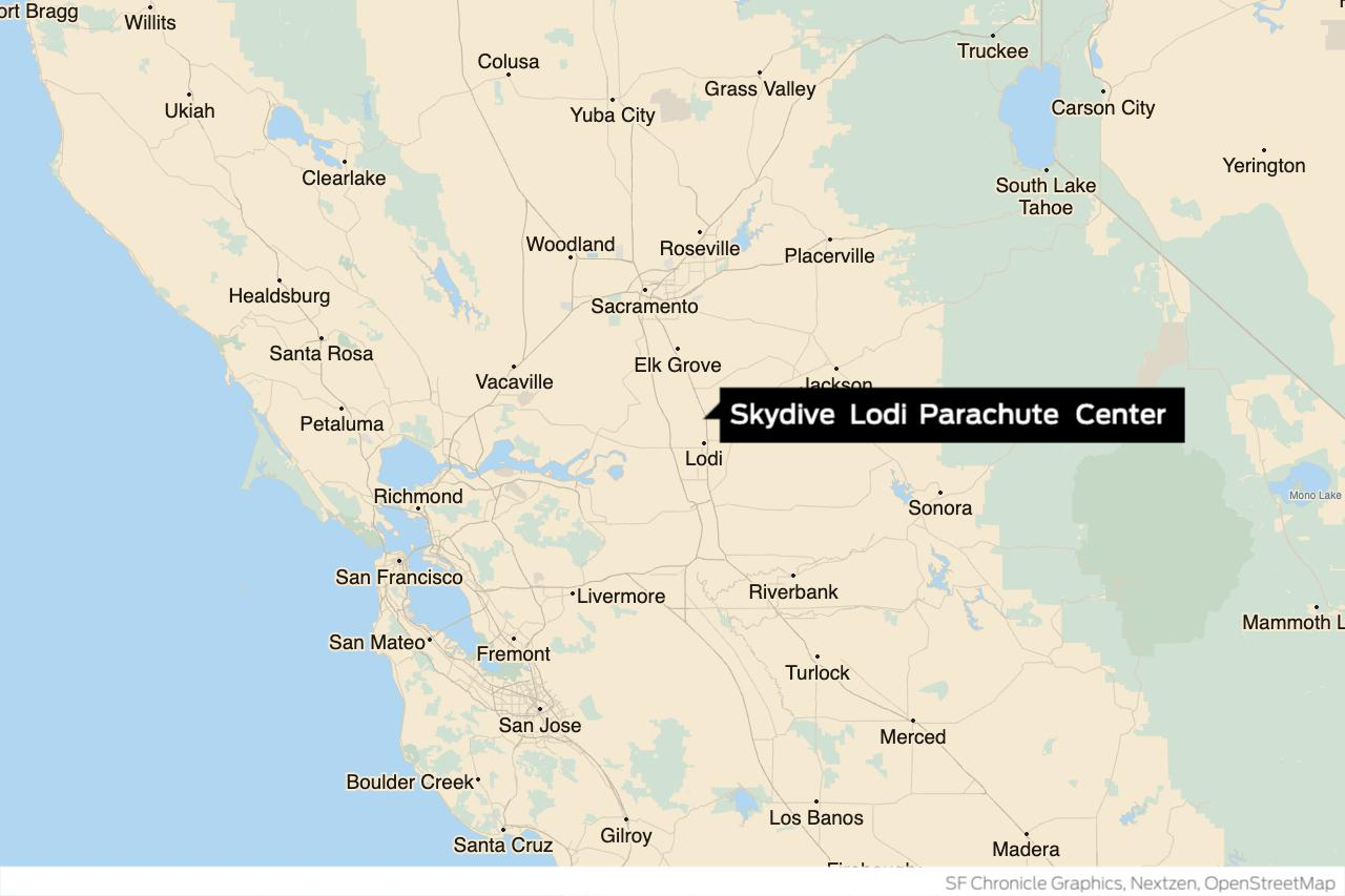 Another skydiver dies during jump at troubled Northern California parachuting center