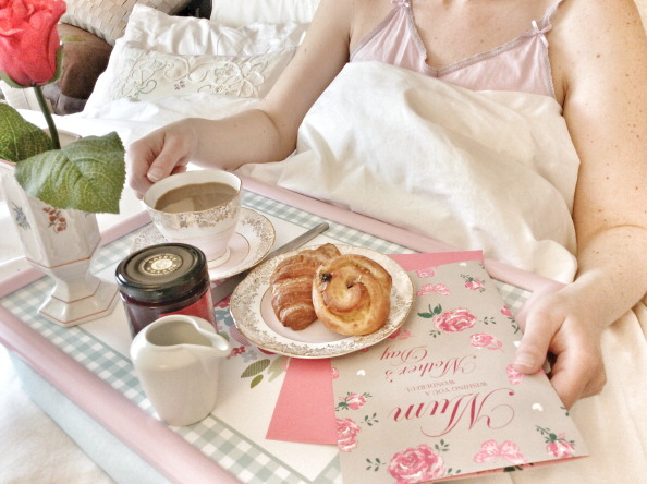 Moms deserve to be spoiled. We suggest breakfast in bed for Mother's Day.