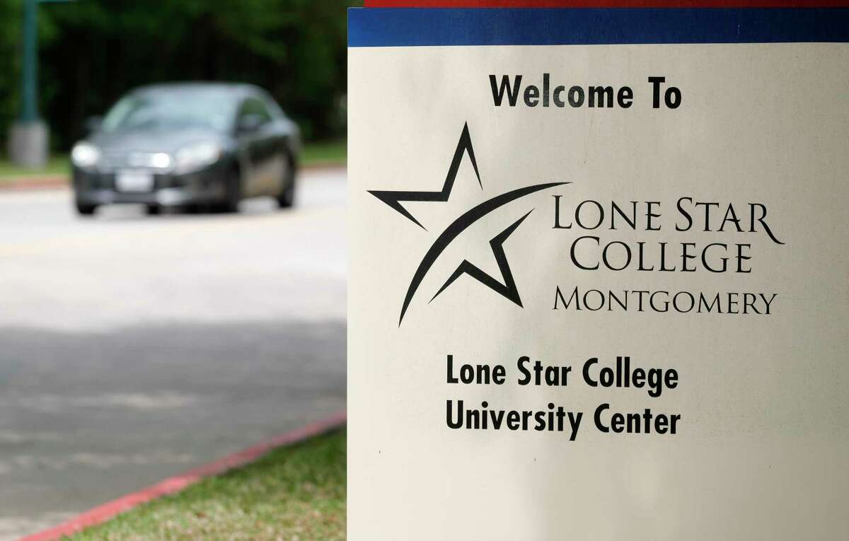Lone Star College - Montgomery is seen, Wednesday, April 4, 2021, in The Woodlands.