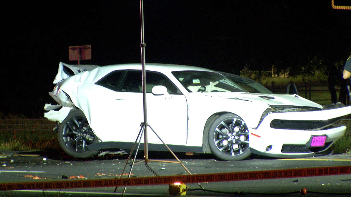 One person is dead after a multi-vehicle accident on the far North Side Sunday night, the Bexar County Sheriff's Office said.