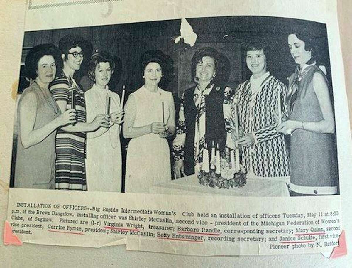 Pictured are the current Board of Directors from left: Sue Johnson, Parliamentarian; Dee Van Horn, Treasurer; Celeste Szczerowski, Secretary; Pat Rossi, 2nd Vice President; Linda Telfer, 1st Vice President; and Ann Stellard, Club President. (Courtesy photo)