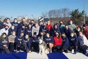 The 2020-2021 UConn women's rowing team. Photo courtesy of Grace Baldauf.