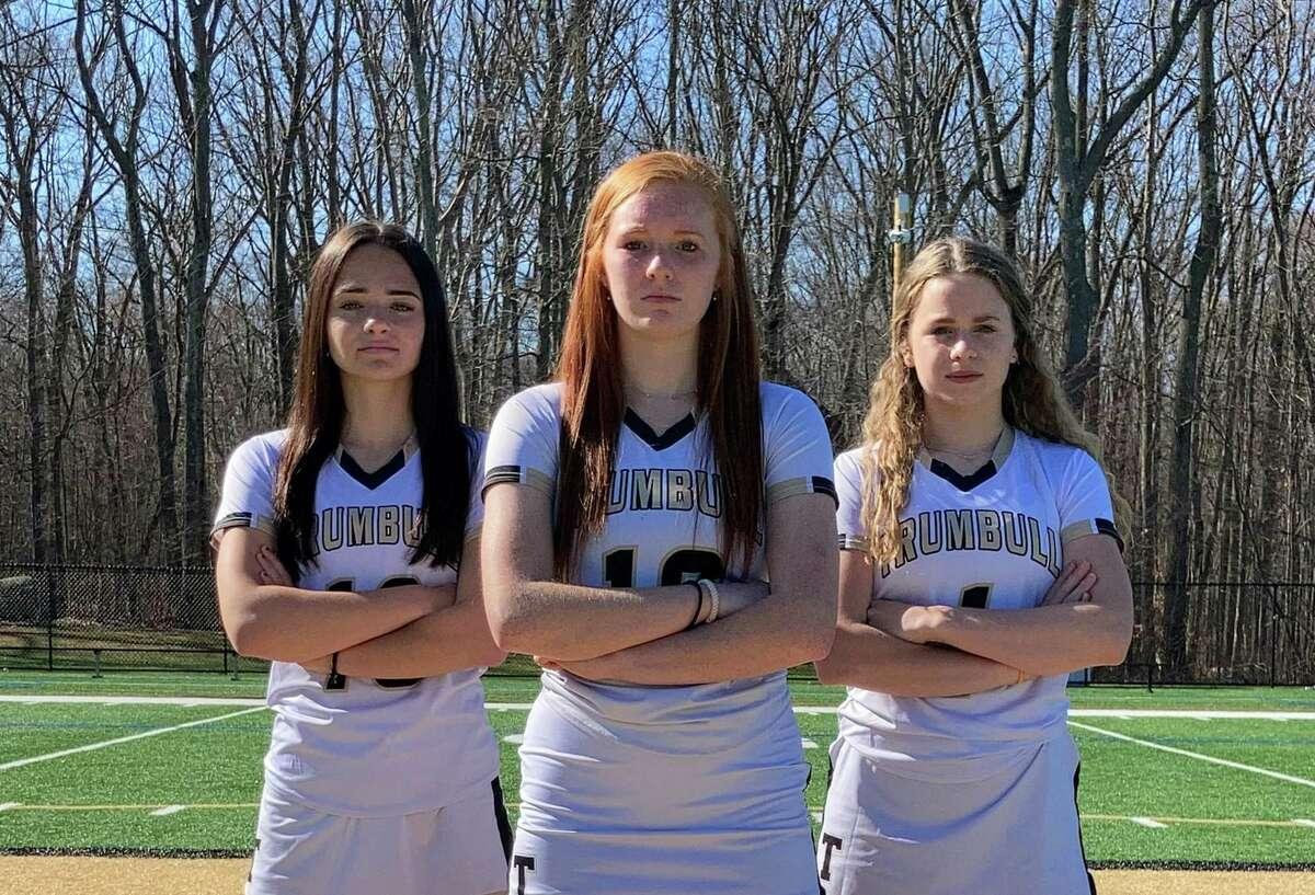Lauren Buck, Callan Vaughn and Kiki Grant are senior team captains.