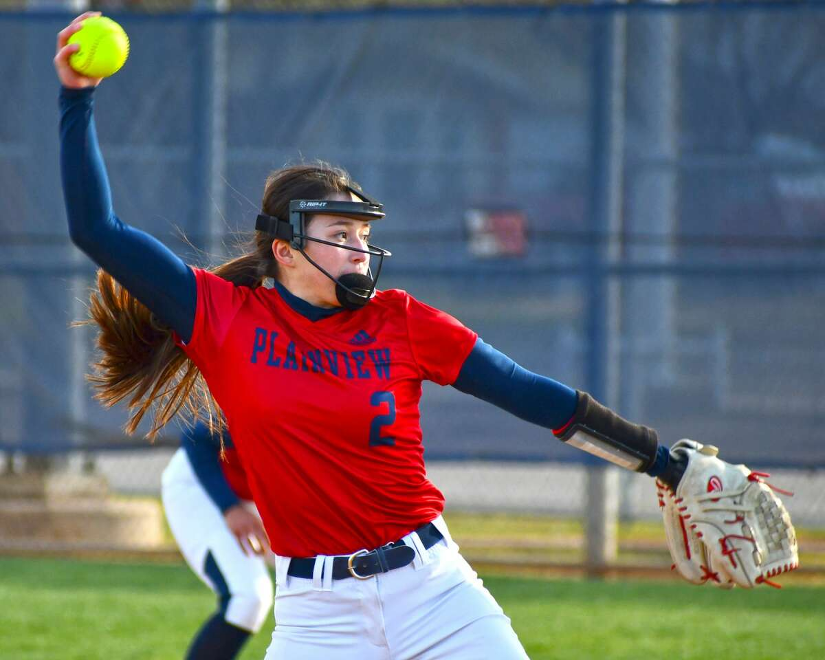 After four years on the Plainview varsity softball team, Esme Lucio will get her playoff moment with the Lady Bulldogs.