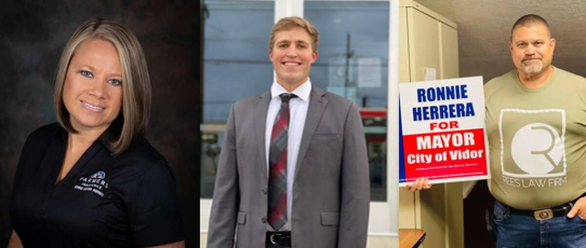 Vidor Mayoral candidates