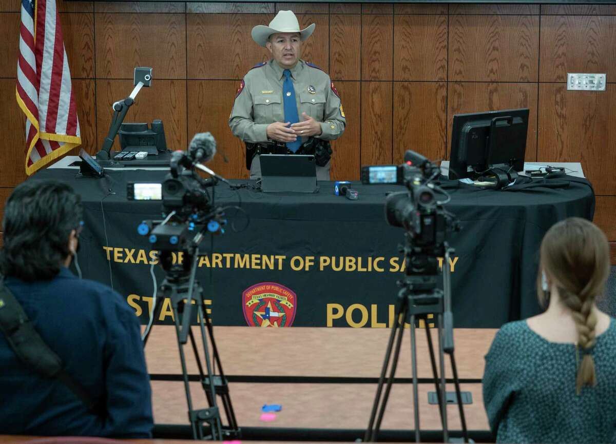 DPS Sergeant Oscar Villarreal talks in April about the new partnership with DRB Media that will be producing and airing 2-3 minute segments on West Texas cold cases in hopes of gaining new information. Tim Fischer/Reporter-Telegram