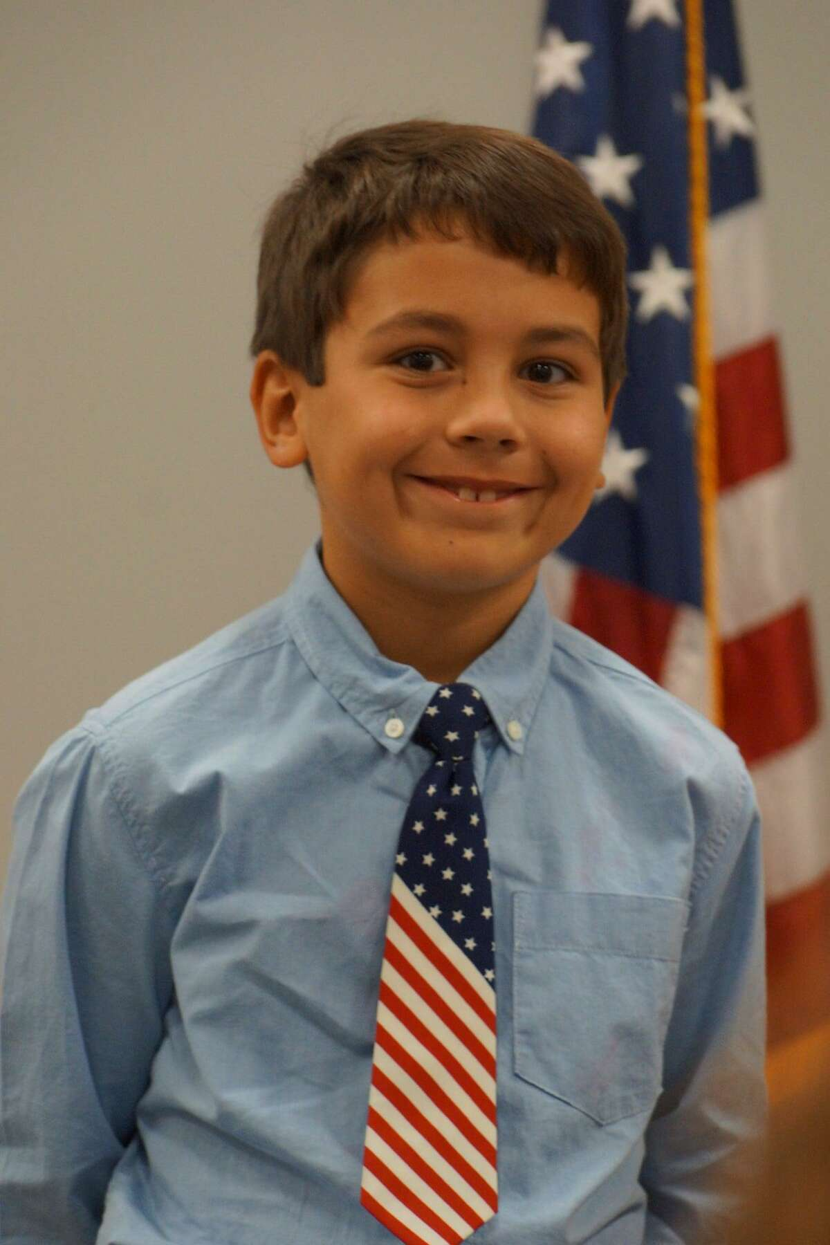 """On Thursday, third and fifth grade students from Willis and Montgomery ISDs were celebrated at the annual """"My American Hero"""" awards luncheon presented by the Lake Conroe Area Republican Women."""