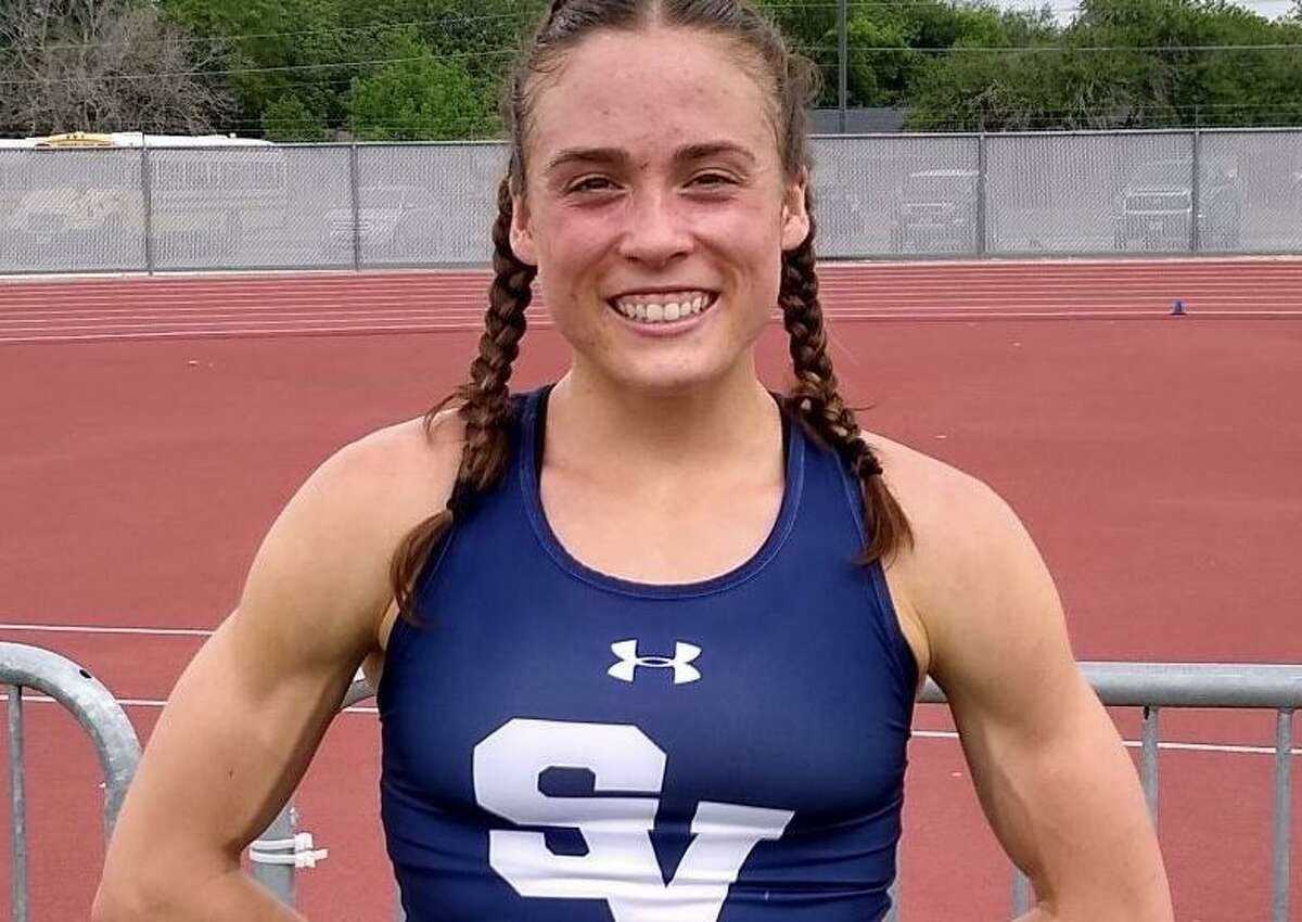Amalie Mills is a senior on Smithson Valley's girls track and field team.
