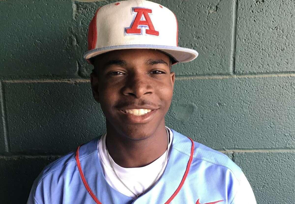 Kobe Stokes is a senior pitcher for Antonian.