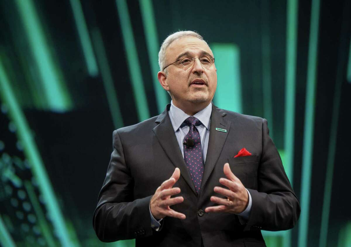 Antonio Neri, executive vice president and general manager of Hewlett Packard Enterprise. Neri said he moved his company's headquarters to tap into the region's diverse workforce.