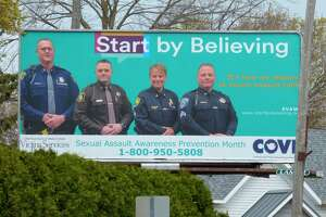 The Victim Services Program and Communities Overcoming Violent Encounters (COVE) are teaming up with local law enforcement for Sexual Assault Awareness Prevention Month. They plan a pledge drive that encourages belief in sexual assault survivors, for April 21. (Scott Fraley/News Advocate)
