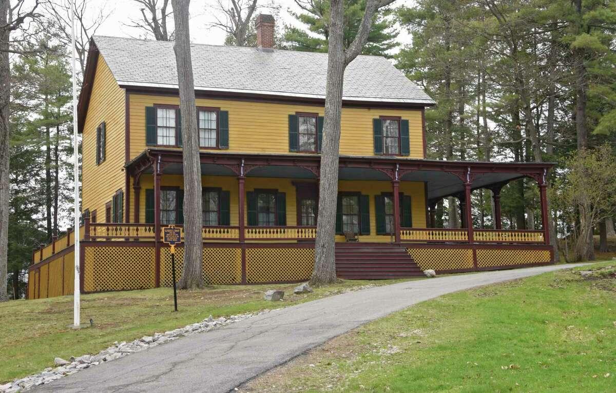 Grant Cottage State Historic Site in Wilton. (Lori Van Buren/Times Union)