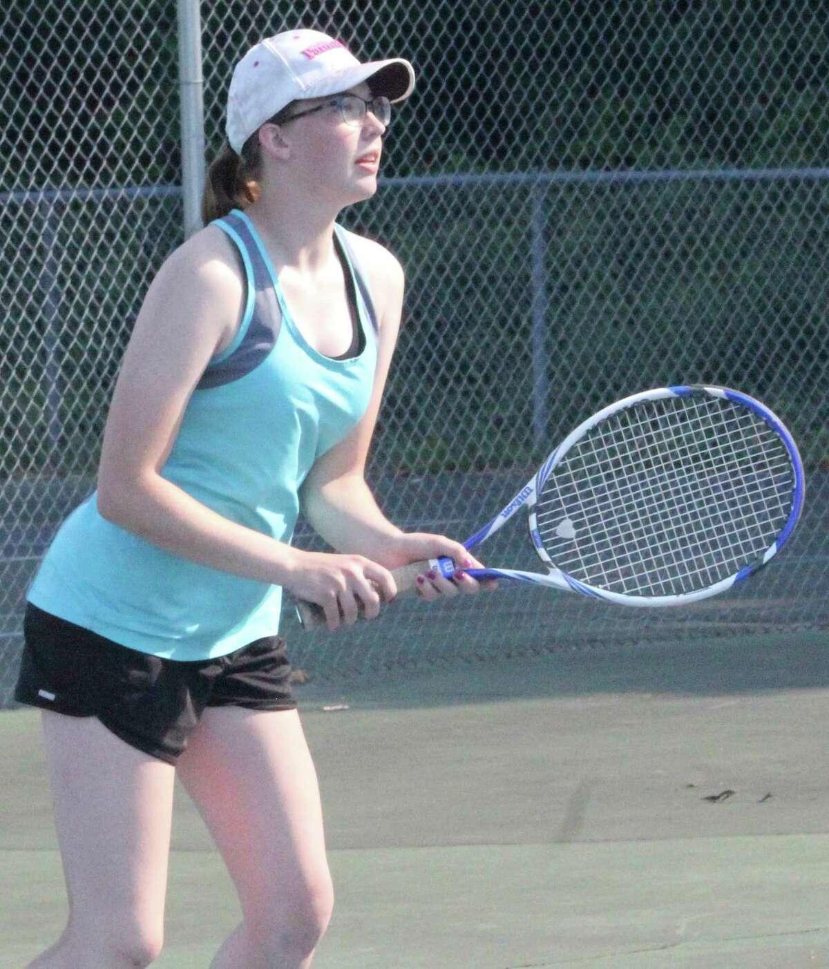 Karlie Hughes had a successful weekend for the Cardinal tennis team. (Pioneer file photo)