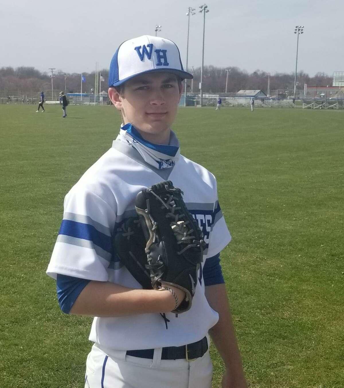 West Haven senior Hunter Axelrod is a senior co-captain for the baseball team.