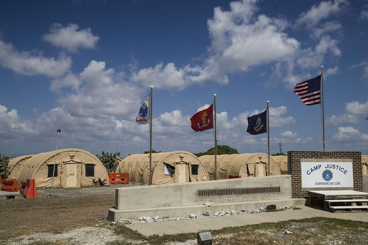 Senate Democrats, including both of California's senators, are calling on President Biden to close the prison at Guantanamo Bay.