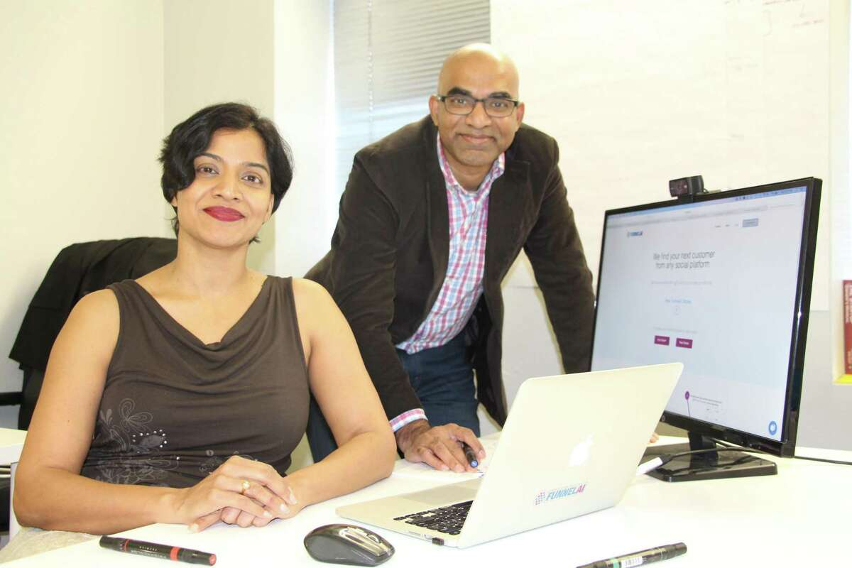 Siblings Suja Kamma and Sridhar Kamma's FunnelAI was part of the local RealCo accelerator . It did well, then left for Austin.