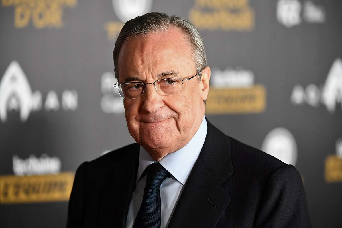 Real Madrid president Florentino Perez aims to spearhead a new league.
