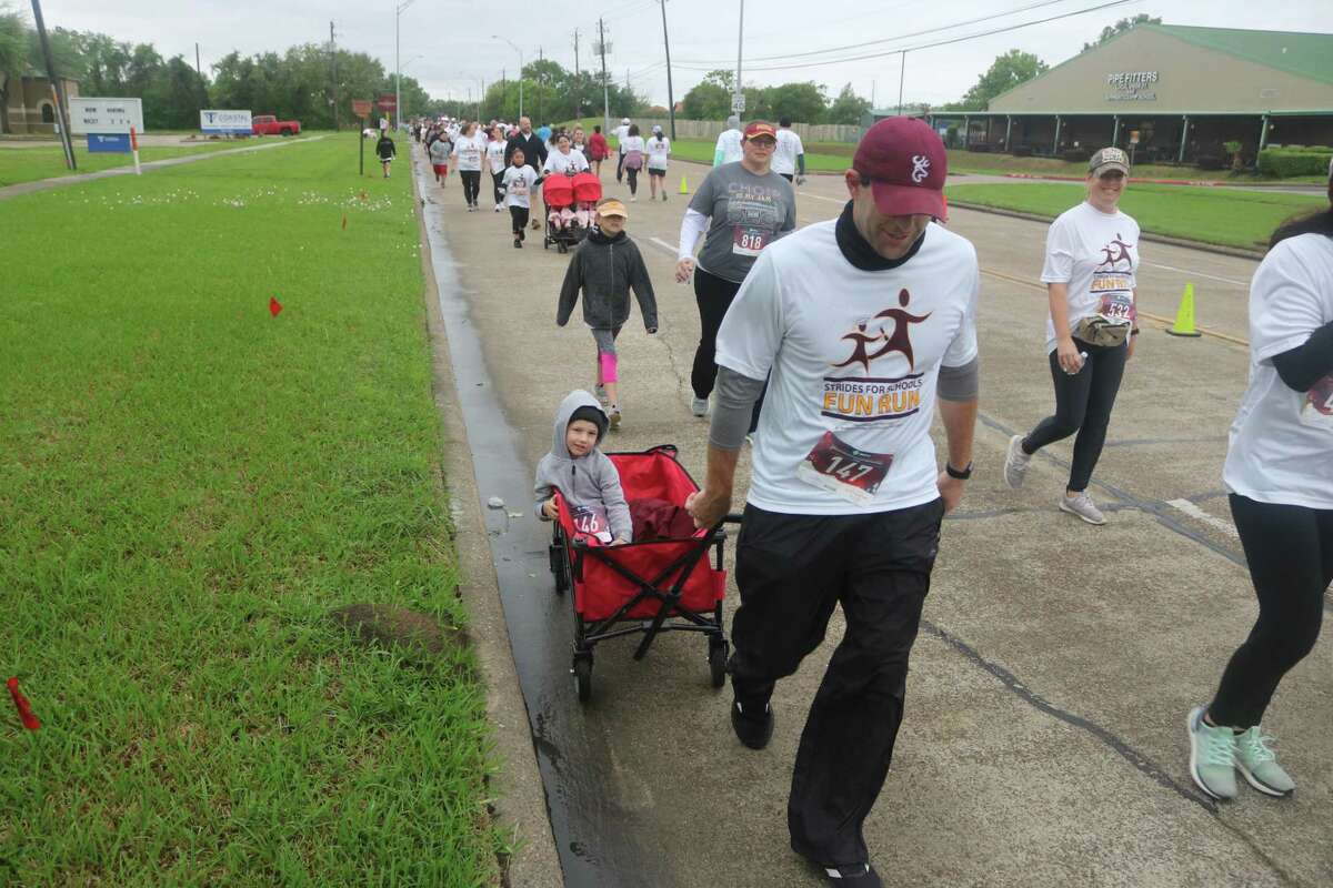 The Deer Park Education Foundation is planning fundraisers for the 2021-22 school year including the annual Strides for Schools fundraiser set for April 30, 2022. Deer Park High School head football coach Austin Flynn was among 1,200 participants in last April's event.