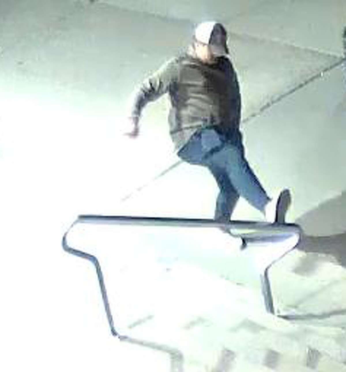 The Big Rapids Department of Public Safety is asking for the public's help in identifying two subjects who damaged a handrail at the Big Rapids Community Library.