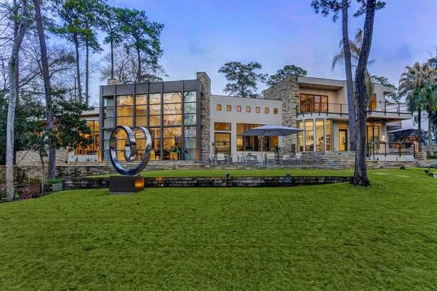 This beautiful home boasts a nearly $8 million price tag in Houston's Memorial area.