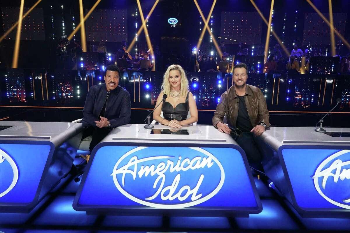 """American Idol"" judges Lionel Richie, Katy Perry and Luke Bryan during Season 19."