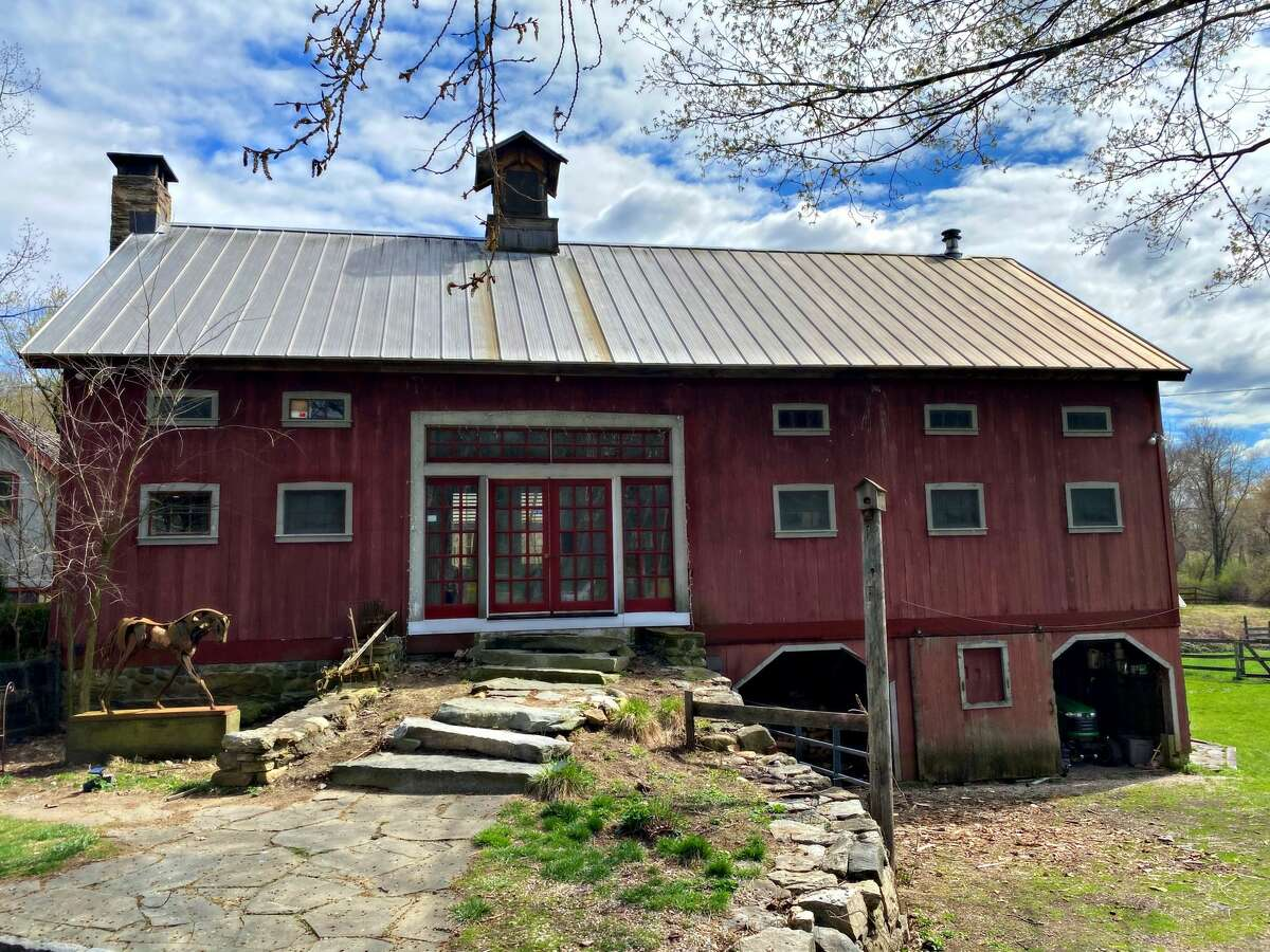 The Spirit Horse Farm in Kent, Conn. is a converted barn now used as a short-term rental.