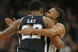 @OldManCaleb: Rudy Gay is now and forever a beloved Spur. You defend Patty you defend the city that's how this works